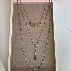 Stella & Dot Riad Layering Necklace